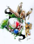 clown knows hurt by BrunofPaiva