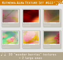 Txt Set 22: Wonder Berries by Ruthenia-Alba