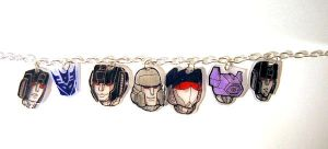 Decepticon Charm Bracelet 01 by batchix