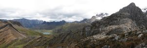 Andes mountain range by niso14