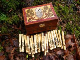 Rowan Ogham Set by Lolair