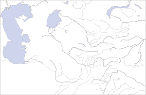 Template Map of Central Asia by zalezsky