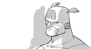 Cap - 10 min Sketch by DerekLaufman