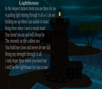 Lighthouse Poem by LadyGweneviere