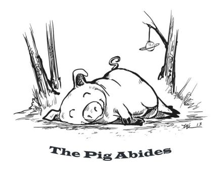 The Pig Abides by ursulav