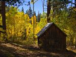 Spencer's Cabin in fall by MartinGollery