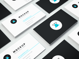 Freebie - Business Card PSD Mockup by GraphBerry