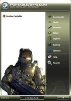 Halo Portable App Menu Theme by nstallons