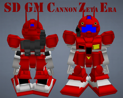 SD GM Canon Zeta Era by lordvipes