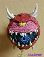 Classic Doom Cacodemon  (attack) by ENulmer