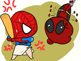 Poor Deadpool by iLSNerd