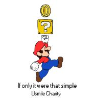 Mario Charity Poster by aqualex123x