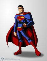Superman by KrisSmithDW