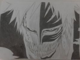 Vizard Ichigo by Deathscythe88