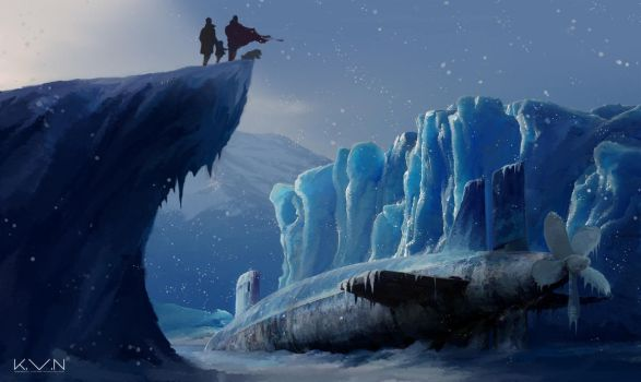Ice Monster by Pino44io