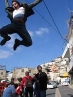 Flying of Tzfat by asketchyfish