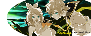 New Kagamine Signature by deerly-hime
