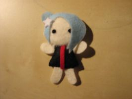akatsuki plush, blue hair by lostrunaway