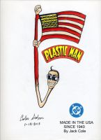 Plastic Man MADE IN THE USA by WibbitGuy