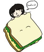 Sandwich George by psychedelic-weirdo