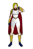 Power Girl Redesign 001 by SplendorEnt