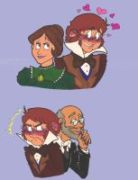 Adorkible Pairings (more or less) by FlyingPenguin567