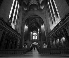 Inside Liverpool cathedral one by spurs06