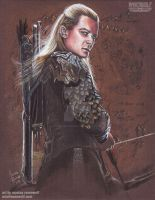 Legolas (Hobbit/LOTR) - Orlando Bloom by The-Art-of-Ravenwolf