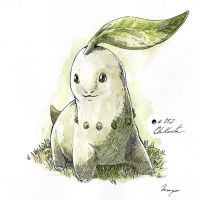 #152_Chikorita by Manguinha