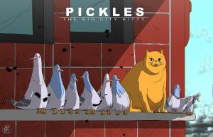 PICKLES - The Big City Kitty by feeesh