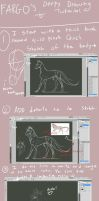 Derp Drawing tutorial by Fargonon