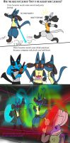 Simple hints for Lucario Party by Fangy-From-Shadow