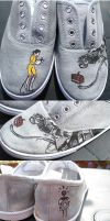 Portal 2 Shoes by rocketjumpwaltz