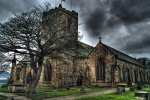 Scarborough church by skyblue-13