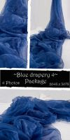 Blue drapery Package 4 by almudena-stock