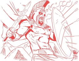 300 Ringo RED INKS Me by JamesLeeStone