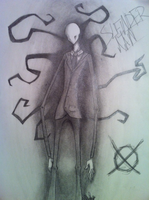 Slenderman by sonya013