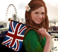 Amy Pond by Dobbylove