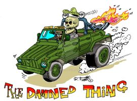 Volkswagen type 181  hot-rod The Thing by Roberto67