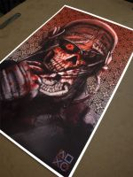 Zombie MW2 Ghost Special Edition 1 of 1Poster by DoomCMYK