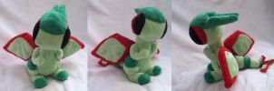 Flygon Pokemon Time plush by Glacdeas