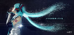 Hatsune Miku by nickcorner
