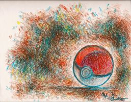 It's a Pokeball by HNAutumn