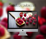 Sweet Strawberries Wallpaper By Julieta7599 by Julieta7599