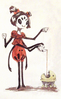 Muffet's pet by Dragoreon