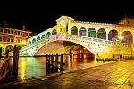 Rialto lights by Night by Brompled