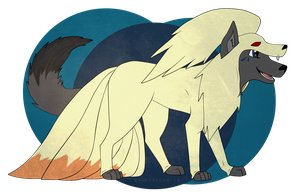 Um I'm supposed to be Ninetales by GameFreekk