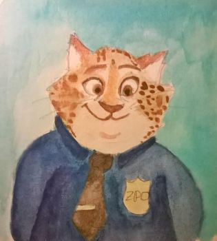Benjamin Clawhauser by 1UnluckyClover