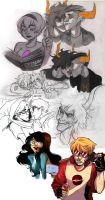 Homestuck collage the revenge by Peek-aBoo