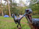 Camping with Dinosaurs by Nostaligia4infinity
